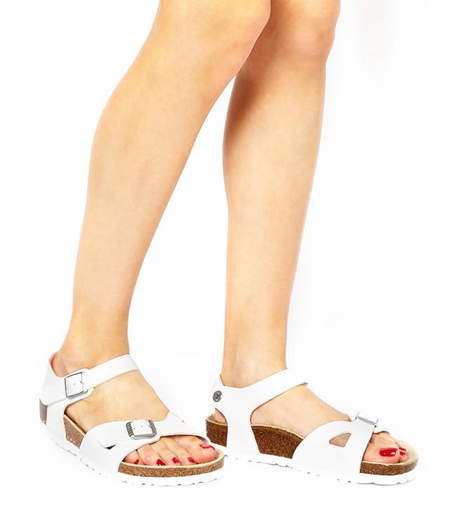 Birkenstock Birkenstock Rio 2 Strap White Sandals