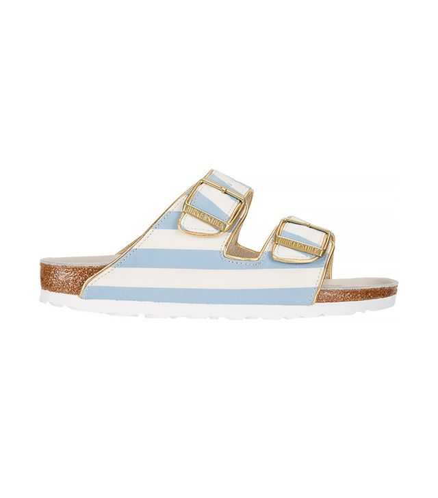 Birkenstock Stripe-Print Arizona Sandals