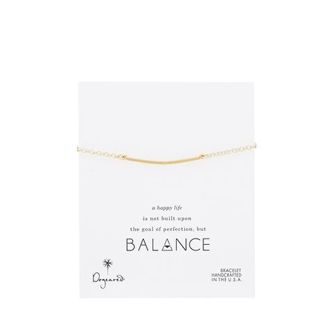 Balance Large Square Bar Bracelet