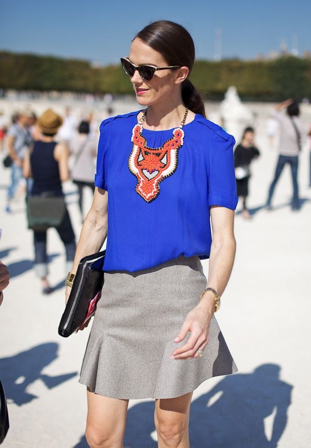 Street Style: Statement Necklaces