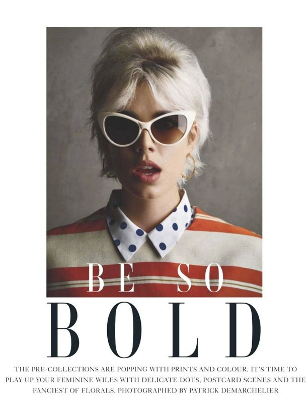 Be So Bold | Vogue UK