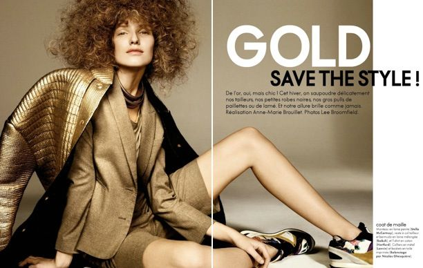 Gold Save The Style | ELLE France