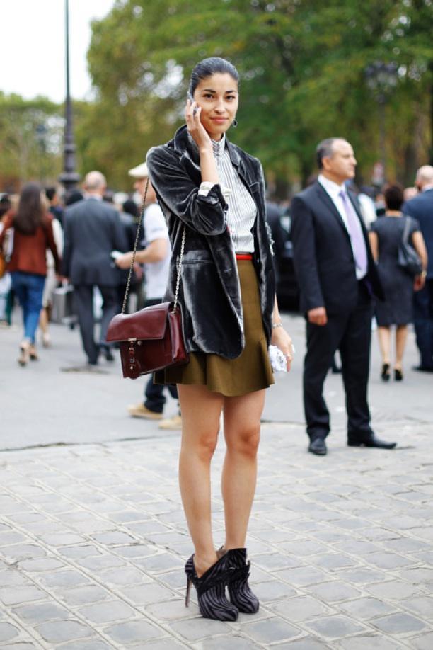 Street Style: A Velvet Touch