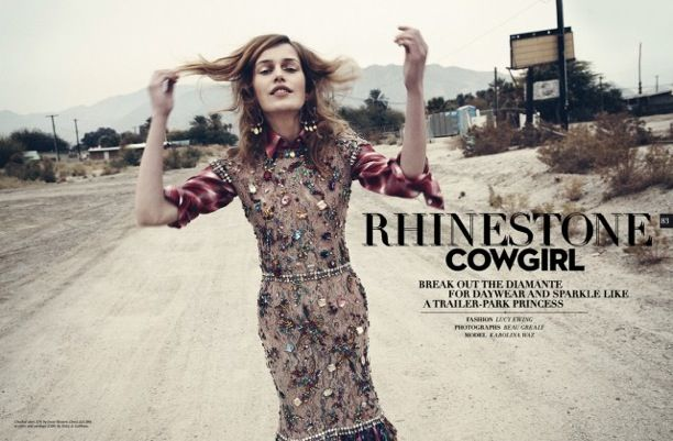 Rhinestone Cowgirl | Sunday Times Style