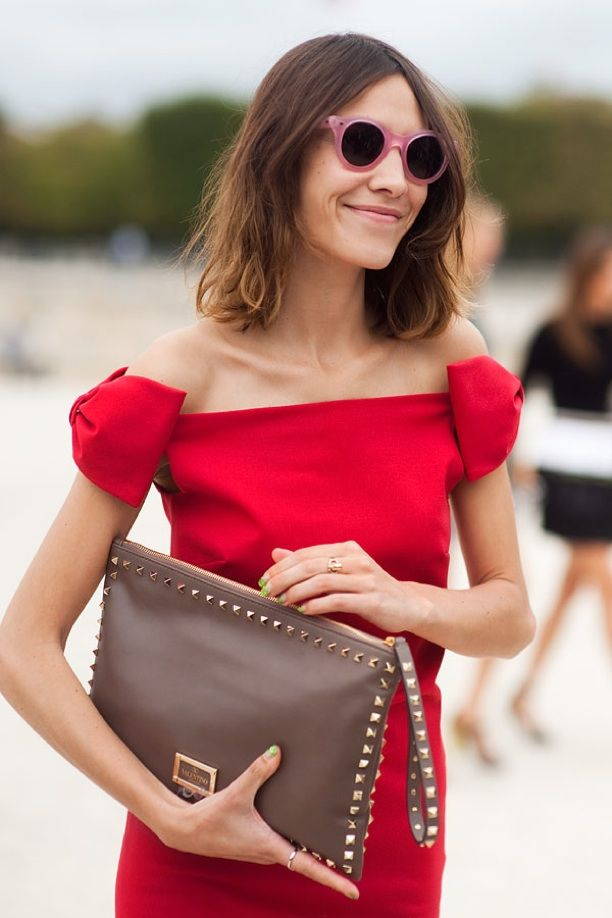 Street Style: Studded Clutch