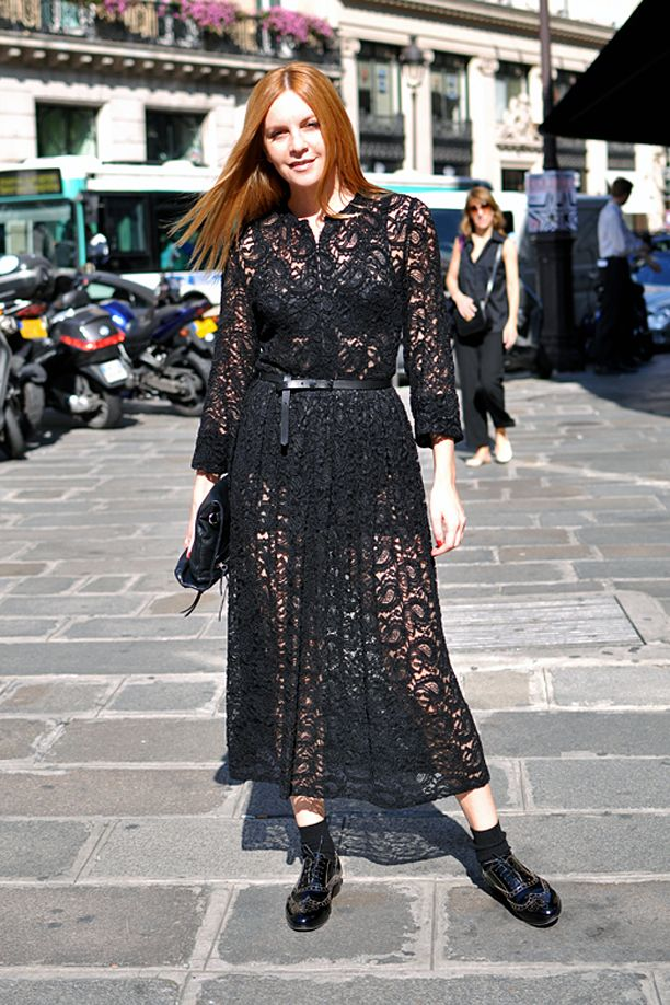Street Style: Black Lace