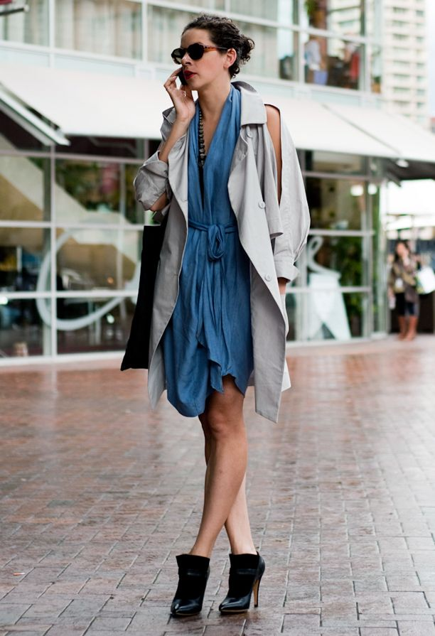 Street Style: Modern Trench