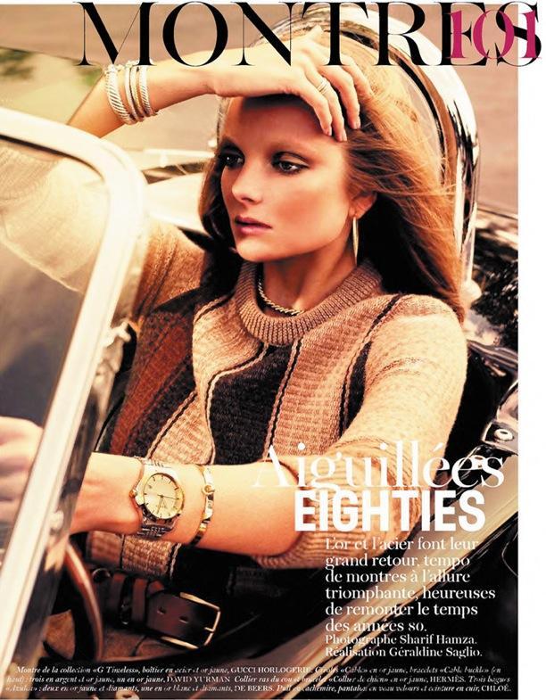 Aiguillés Eighties | Vogue Paris