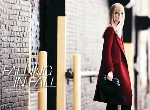 Falling in Fall | Harper's Bazaar Korea