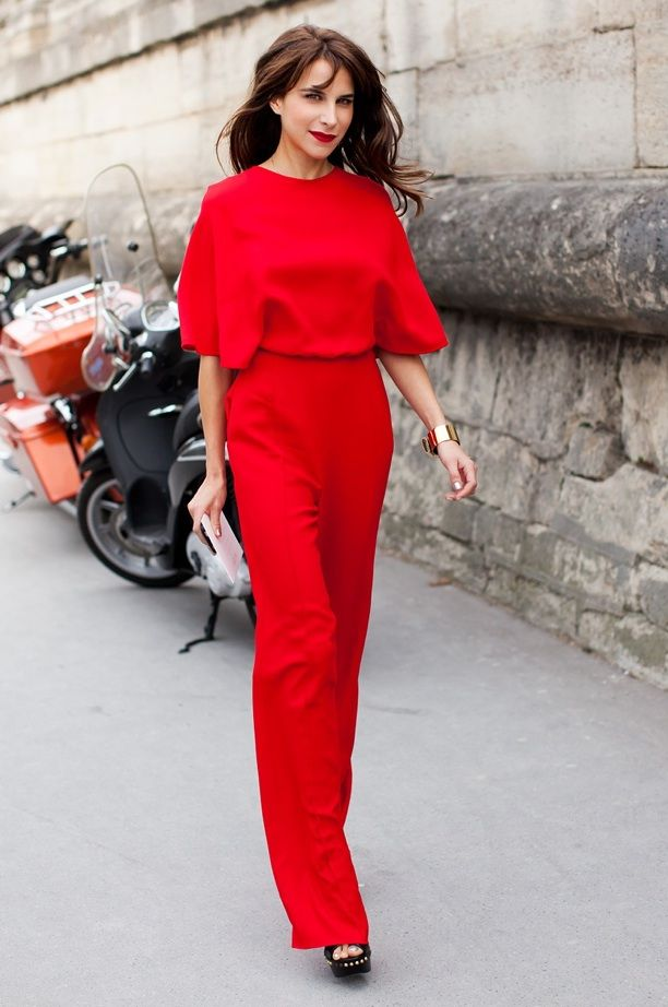 Street Style: In Red