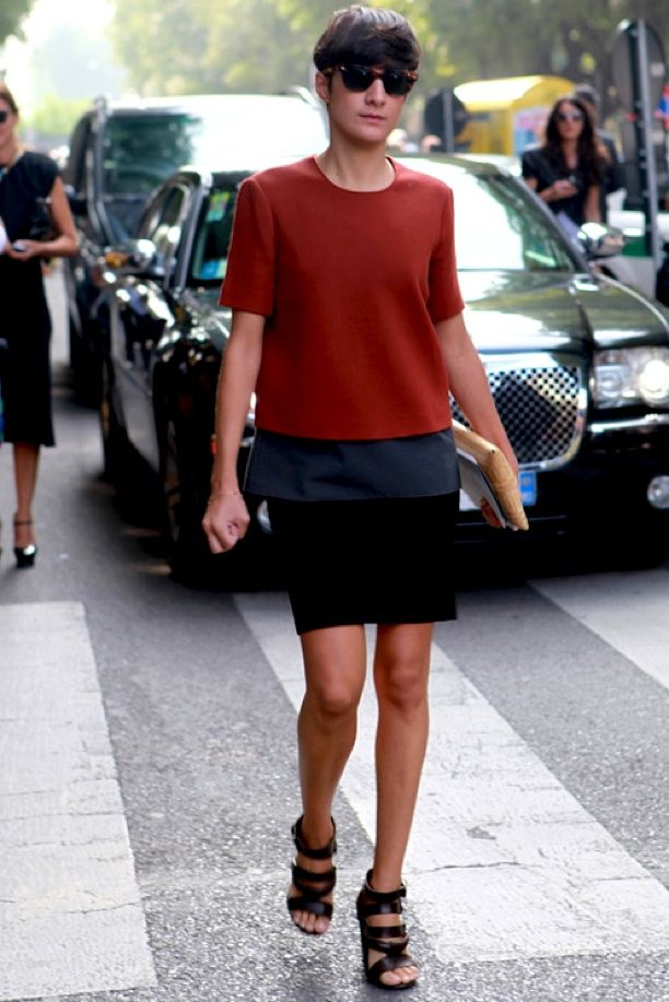 Street Style: Colour Block
