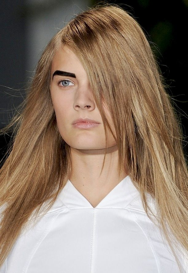 NYFW Beauty: Bold Brows | Altuzarra S/S 2012
