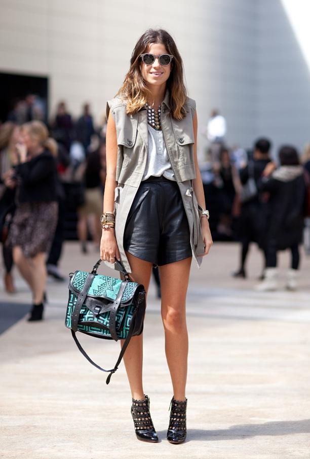 NYFW Street Style: Shorts