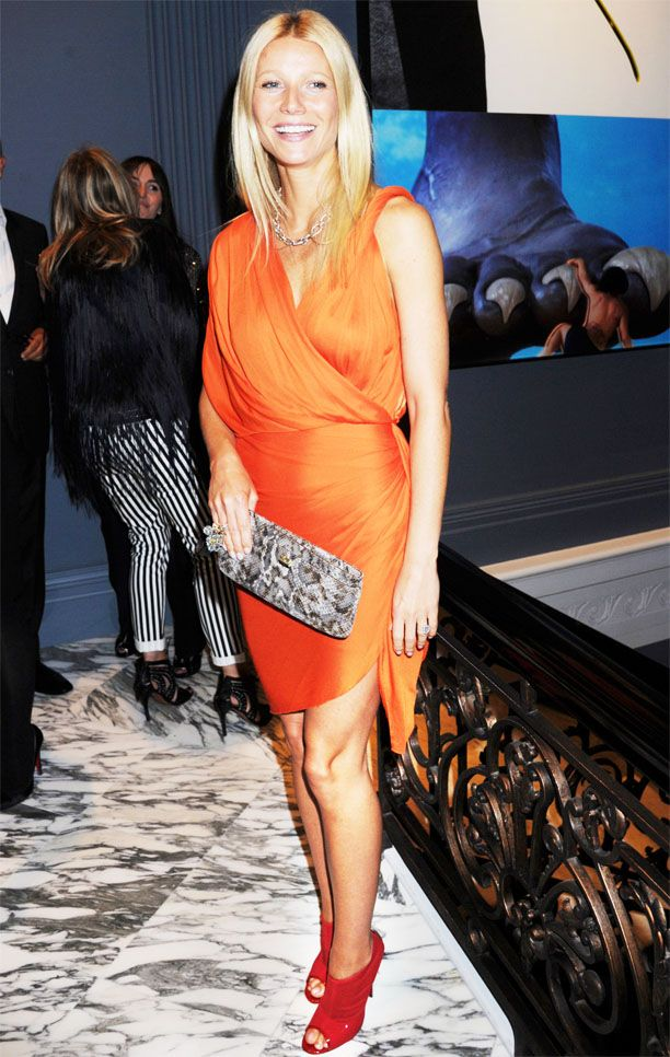 Look of the Day: Orange Burst