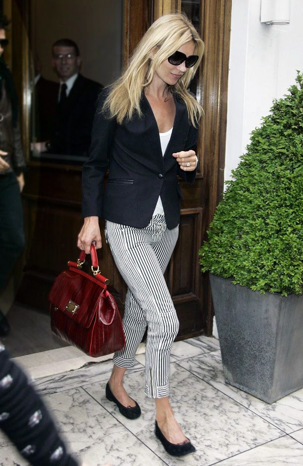 Look of the Day: Cropped Pant