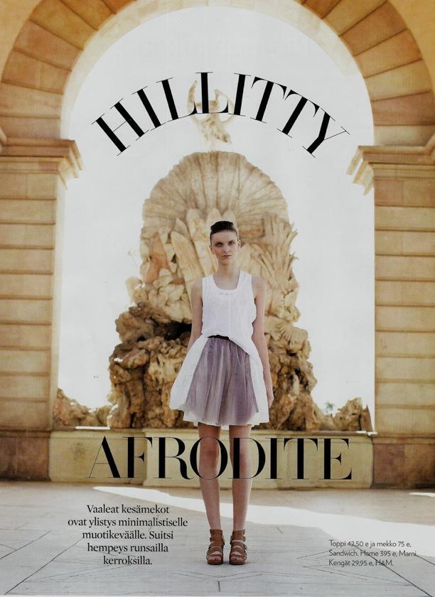 Hillitty Afrodite   Olivia Finland