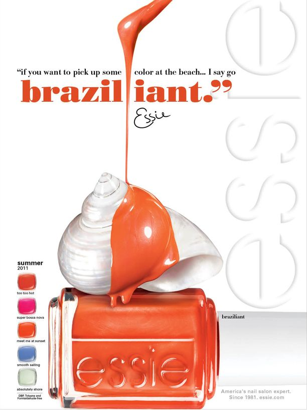 Sneak Peek: essie's new Summer 11 Braziliant collection
