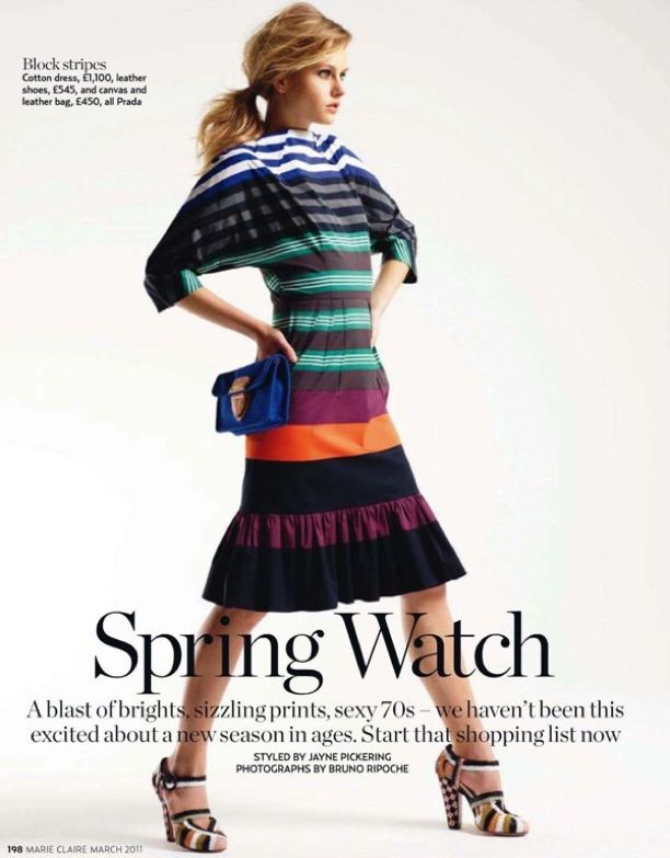 Spring Watch   Marie Claire UK