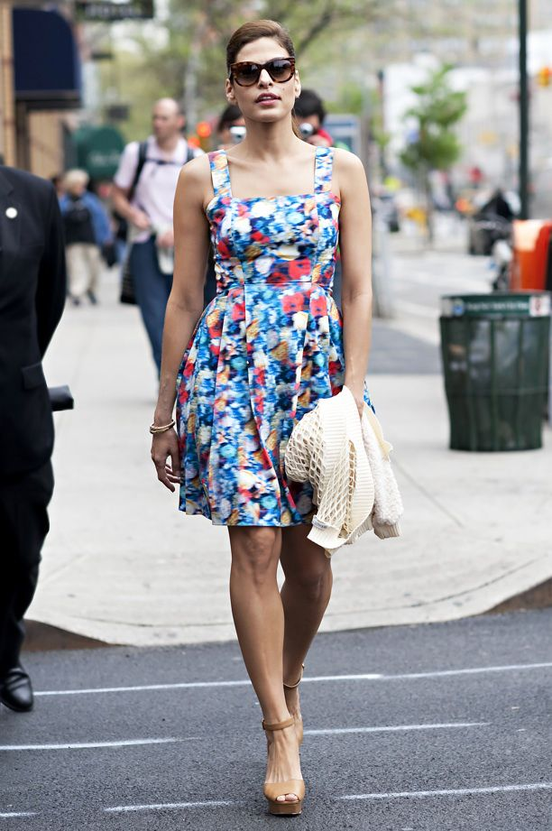 Look of the Day: Fresh Floral