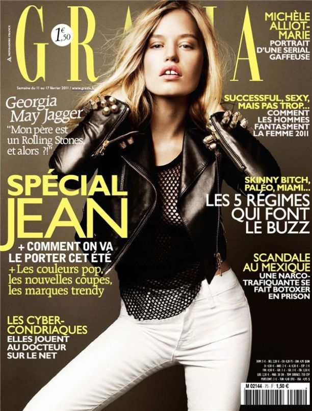 Georgia May Jagger | Grazia France