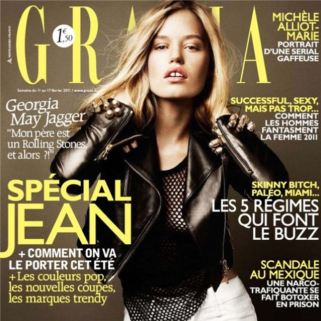 Georgia May Jagger | Grazia France