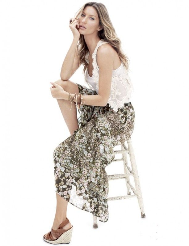 Gisele Bundchen for H&M Spring 2011