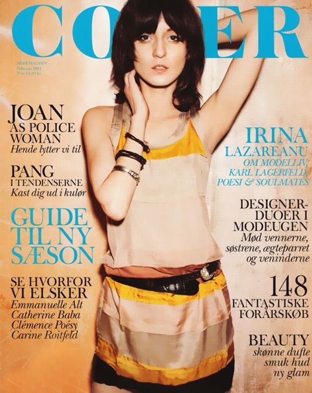 Cover Magazine | Irina Lazareanu