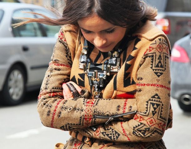 NYFW Street Style: Native Prints