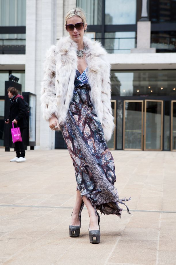 NYFW: Street Style @ Lincoln Center, Saturday