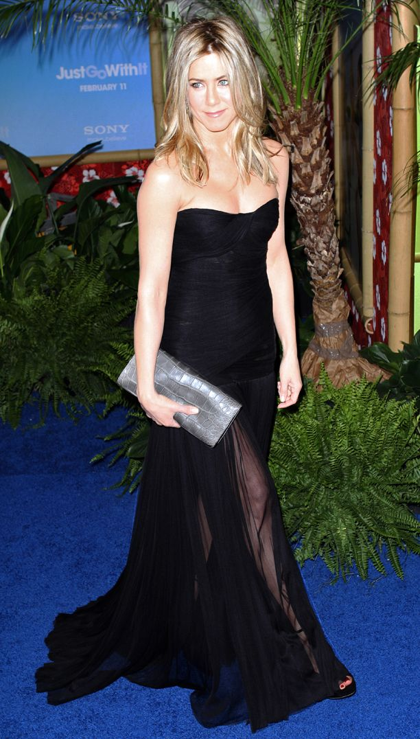 Look of the Day: Sheer Maxi