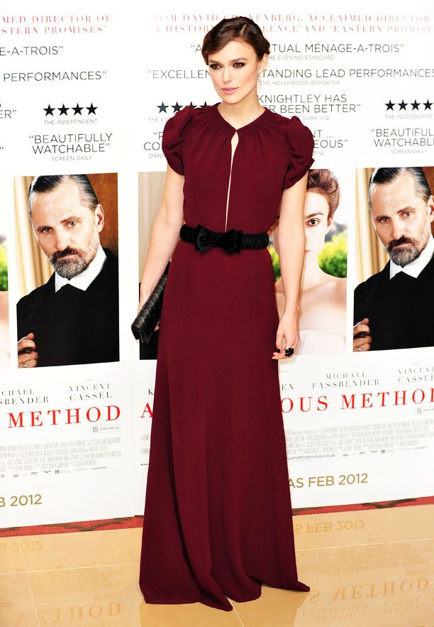 Look of the Day: Belted Gown