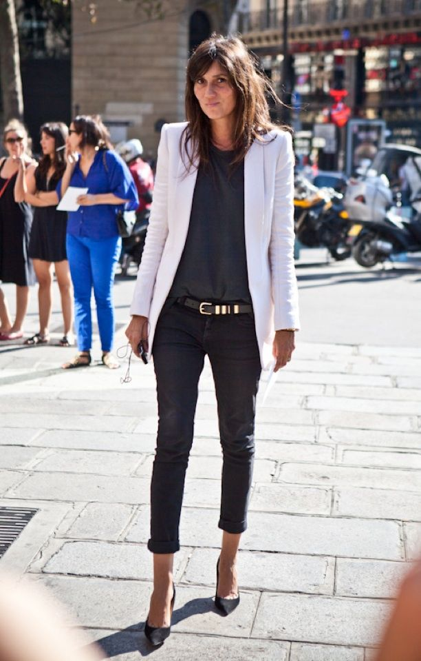 Street Style: Sleek White Jackets