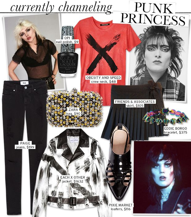 Punk's Princesses Inspire Our Fashion Picks
