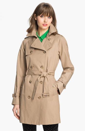 Calvin Klein Legacy Poplin Trench Coat