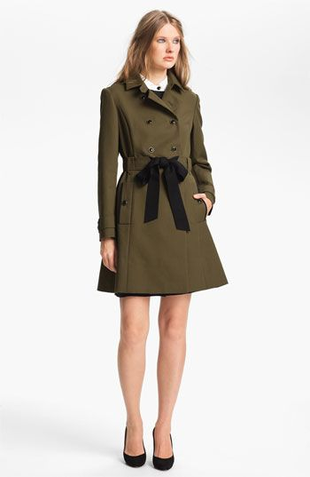 Miss Wu Belted Cotton Trench Coat