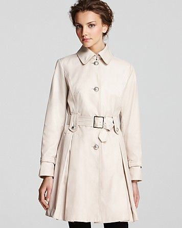 Laundry Belted Trench Coat