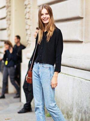 Tip of the Day: A Killer Way to Wear Blue Jeans