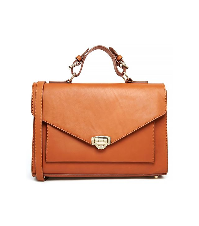 ASOS Leather Satchel Bag