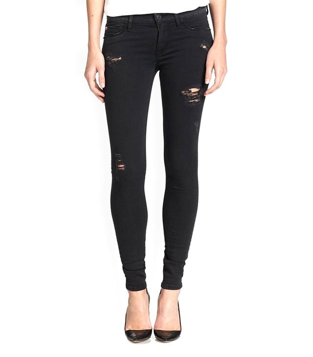 Hudson Krista Distressed Super Skinny Jeans