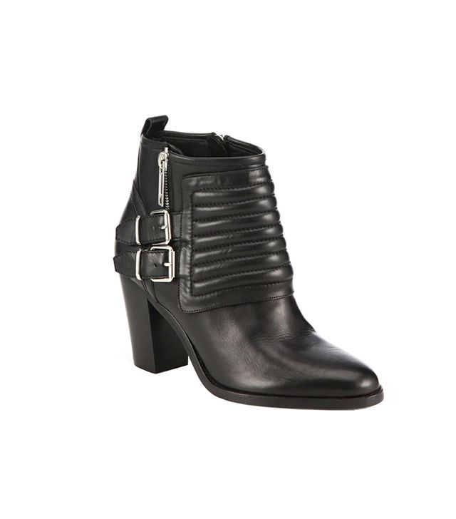Burberry Hirshel Moto Ankle Boots
