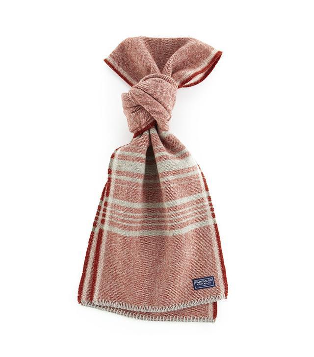 Faribault Weekender Stripe Wool Scarf