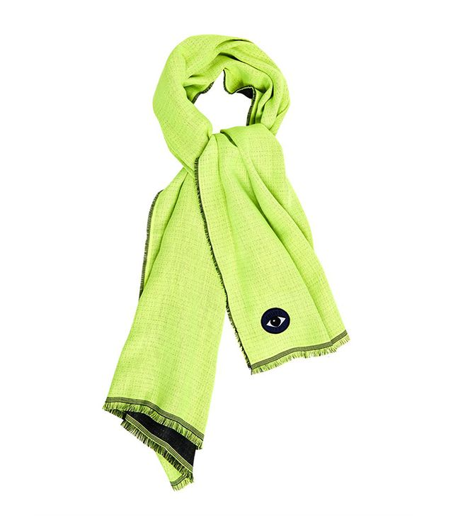 Kenzo Wool and Silk Blend Scarf