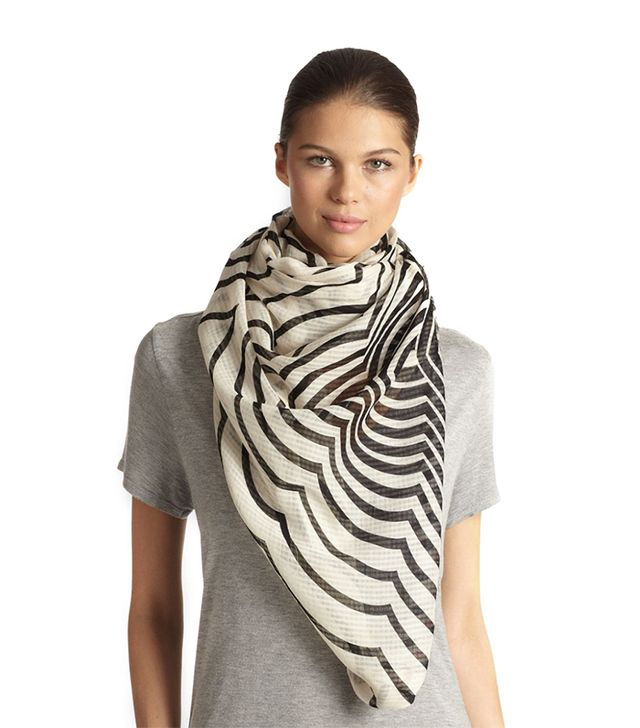 Marc by Marc Jacobs Radiowave Print Scarf