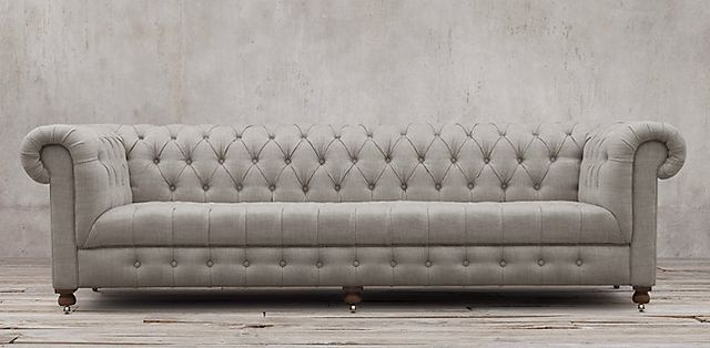 Restoration Hardware Cambridge Upholstered Sofa
