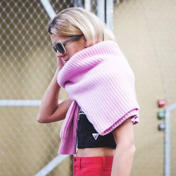 Would You Wear It? The Newest Way to Style Your Sweater