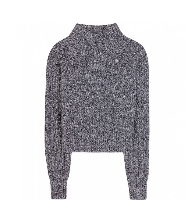 Acne Studios Loyal Cropped Wool Sweater