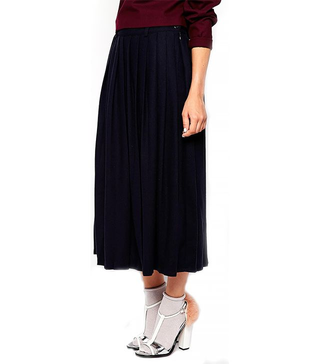 The Laden Showroom X Paisie Pleated Midi Skirt