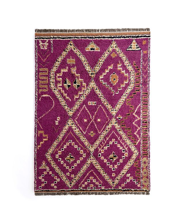 Cost Plus World Market Ruby Shag Area Rug