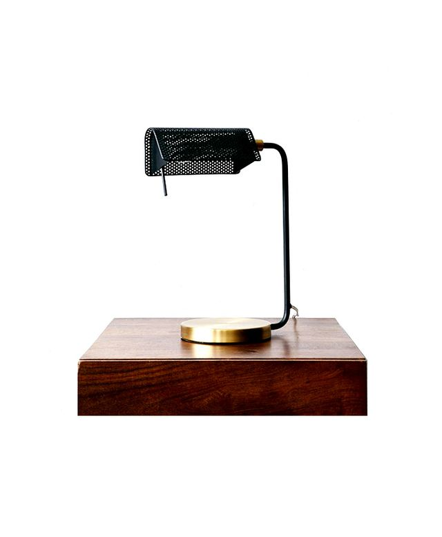 West Elm Modern Bankers Table Lamp