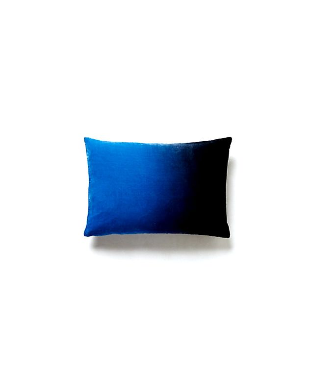 Anthropologie Ombré Velvet Pillow